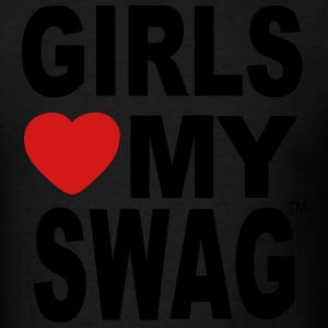 GIRLS LOVE MY SWAG Hoodies - Men's T-Shirt