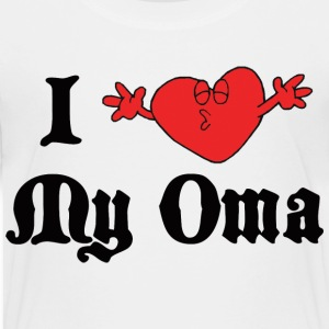 German I Love My Oma  T-Shirt - Toddler Premium T-Shirt