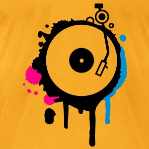 Turntable Graffiti Bags  - Men's T-Shirt by American Apparel
