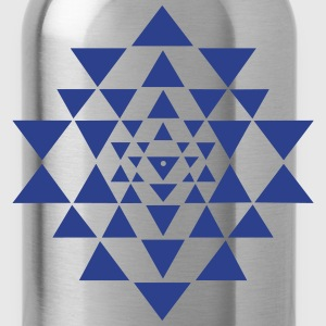 Shri Chakra Yantra -  cosmic conductor of energy T-Shirts - Water Bottle