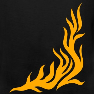 Flame/t-shirt - can be combined with flame/pants Women's T-Shirts - Men's Premium Tank