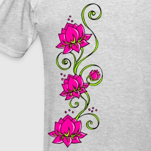 Lotus flowers, symbol perfection & balance Hoodies - Men's T-Shirt