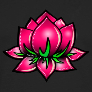 Lotus flower, symbol perfection & balance Women's T-Shirts - Men's Premium Long Sleeve T-Shirt