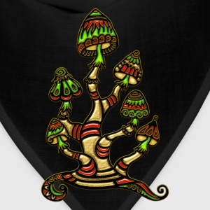 magic mushrooms T-Shirts - Bandana