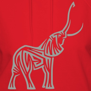 Elephant 16 (Glow in the Dark) - Women's Hoodie