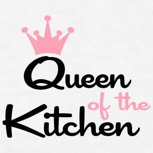queen of the kitchen coffee mug - Men's T-Shirt
