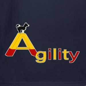 Agility big A Hoodies - Men's Long Sleeve T-Shirt