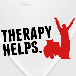 Therapy helps T-Shirts - Bandana