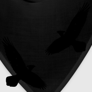 Asatru Viking Odins Ravens Hugin and Munin  - Bandana