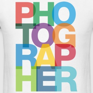 Colorful Photographer Long Sleeve Tshirt - Men's T-Shirt