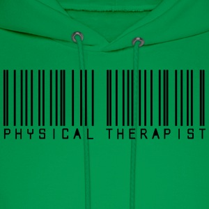 Barcode physical therapist T-Shirts - Men's Hoodie