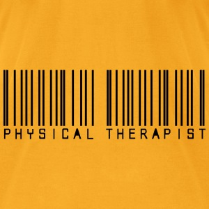 Barcode physical therapist Bags  - Men's T-Shirt by American Apparel