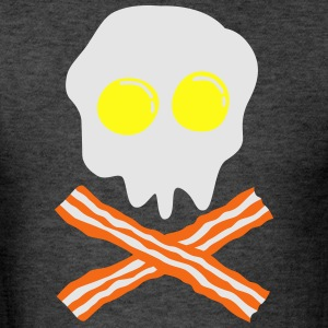 bacon & egg skull T-Shirts - Men's T-Shirt