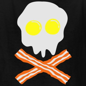 bacon & egg skull T-Shirts - Kids' T-Shirt