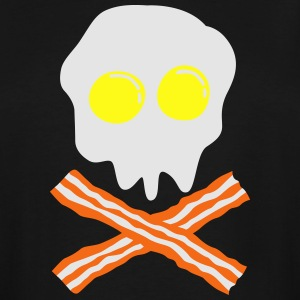 bacon & egg skull T-Shirts - Men's Tall T-Shirt