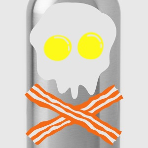bacon & egg skull T-Shirts - Water Bottle