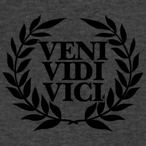 veni vidi vici Tanks - Men's V-Neck T-Shirt by Canvas