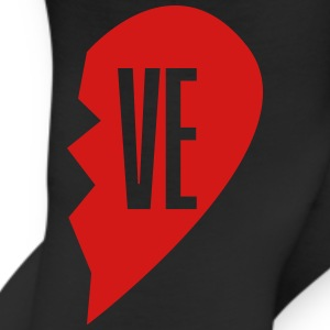 ve - love right side T-Shirts - Leggings