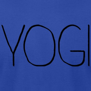 Yogi flowy tank top - Men's T-Shirt by American Apparel