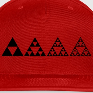 Sierpinski triangles - fractal Hoodies - Snap-back Baseball Cap