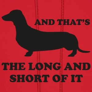 The Long And Short Of It - Men's Hoodie
