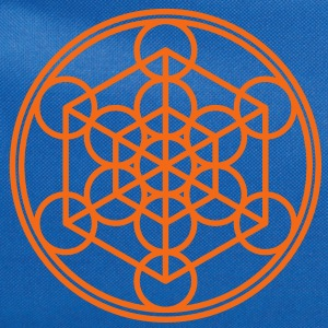 Metatron`s Cube - Hypercube - Sacred Geometry  / T-Shirts - Computer Backpack