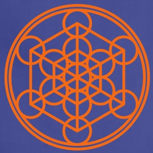 Metatron`s Cube - Hypercube - Sacred Geometry  / T-Shirts - Adjustable Apron