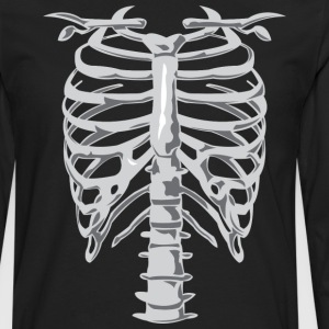 Skeleton Costume Hoodies - Men's Premium Long Sleeve T-Shirt