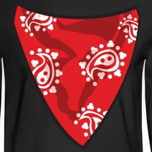 Red Bandana T-Shirts - Men's Long Sleeve T-Shirt
