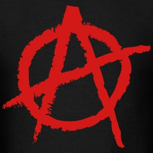 Anarchy Shape Hoodies - Men's T-Shirt