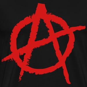 Anarchy Shape Hoodies - Men's Premium T-Shirt