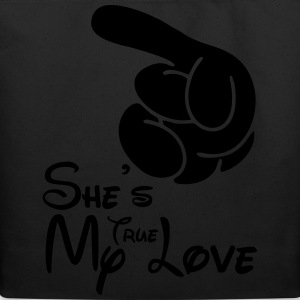 She's my true love T-Shirts - Eco-Friendly Cotton Tote