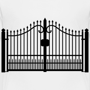 wrought iron gate_c1 Kids' Shirts - Toddler Premium T-Shirt