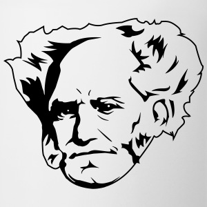 Arthur Schopenhauer T-Shirts - Coffee/Tea Mug