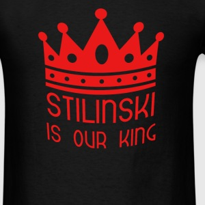 Stilinski is our King  Hoodies - Men's T-Shirt