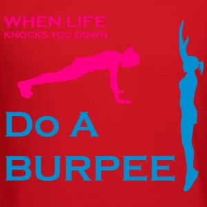 When Life Knocks You Down Do A Burpee - Crewneck Sweatshirt
