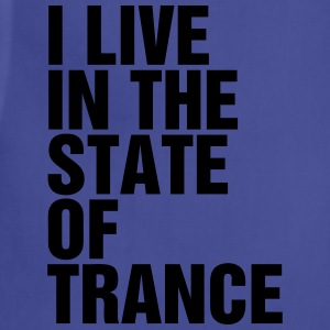 I Live In The State Of Trance (Classic) Tanks - Adjustable Apron