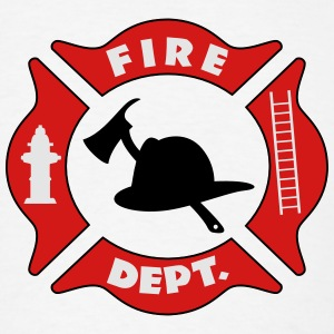 Fire Department Logo Hoodies - Men's T-Shirt