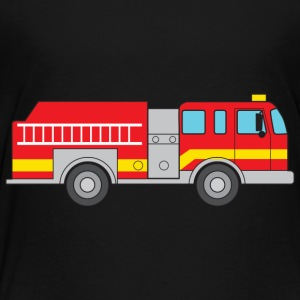Fire Truck Kids' Shirts - Toddler Premium T-Shirt