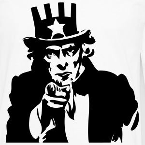 Uncle Sam Kids' Shirts - Men's Premium Long Sleeve T-Shirt
