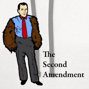 The Second Amendment - Contrast Hoodie