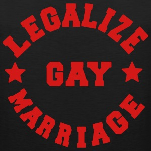 LEGALIZE GAY MARRIAGE Hoodies - Men's Premium Tank