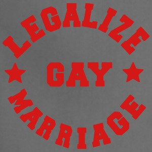 LEGALIZE GAY MARRIAGE Women's T-Shirts - Adjustable Apron