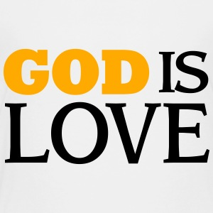 God is Love Kids' Shirts - Toddler Premium T-Shirt