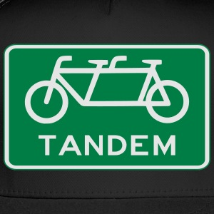 tandem_bicycle_sign T-Shirts - Trucker Cap