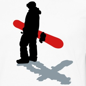 Snowboarder - Men's Premium Long Sleeve T-Shirt