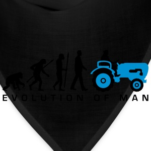 evolution_bauer_mit_treaktor_032013_a_2c T-Shirts - Bandana