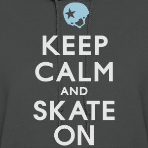 Keep Calm and Skate on - Roller Derby - Jammer Women's T-Shirts - Women's Hoodie