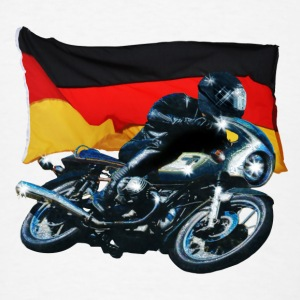 German Flag & Biker Accessories - Men's T-Shirt