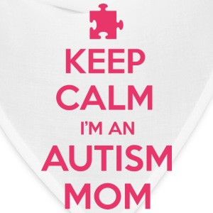 Keep Calm I'm An Autism Mom - Bandana